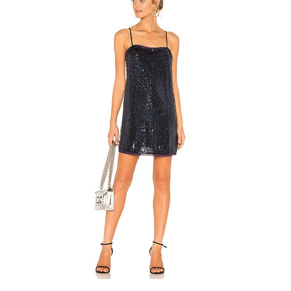 Free People Dresses & Skirts - Time to shine slip dress in navy